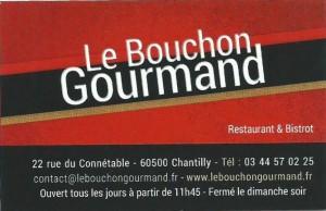 Bouchon Gourmand 2017