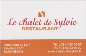 Chalet de Sylvie 2017