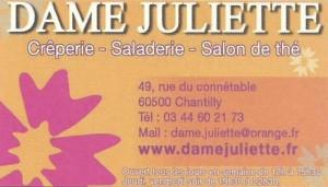 Dame Juliette 2017