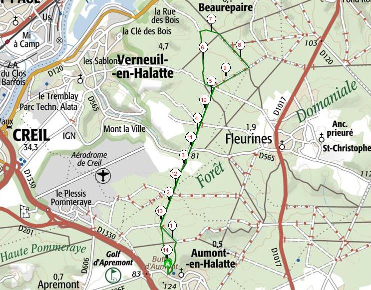 aumont-14km
